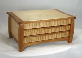 Dutchess Jewelry Box - Cherry Wood Accents