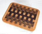 #CB1039 - Fancy End Grain Cutting Board