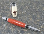 #1120 - Bloodwood Cross Rollerball Pen
