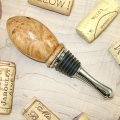 #WBS1019 - Wooden Wine Bottle Stopper